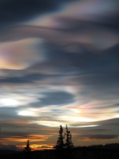 Ice Polar Stratopheric Clouds