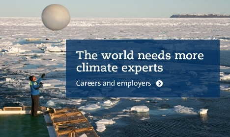 The world needs more climate experts - career opportunities