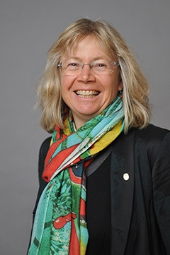Ulrike Lohmann, guest professor at MISU, autumn 2017.