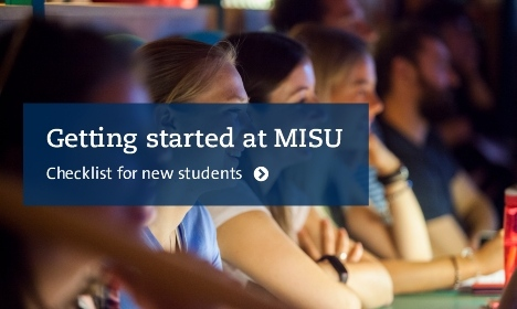 Getting started at MISU