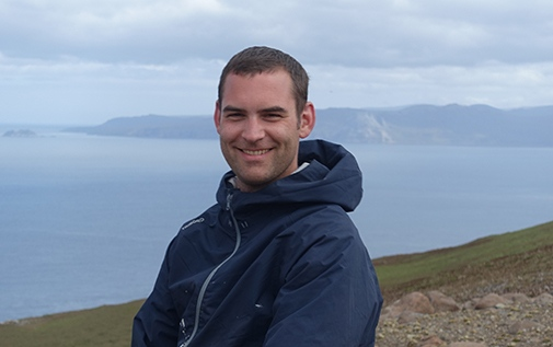 Fabien Roquet, researcher at the Department of Meteorology.