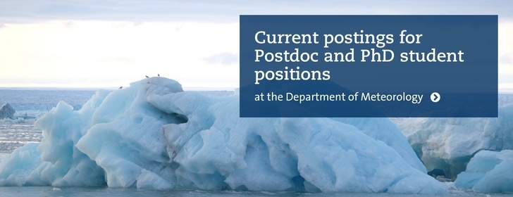 Photo of iceberg in the Arctic and link to vacancy postings