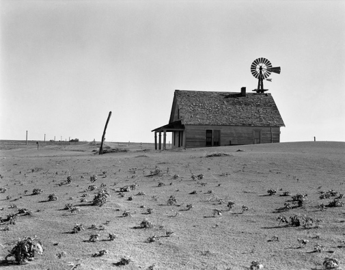Photo from 1930s Dust Bowl in Texas. Photo: https://www.loc.gov/item/2017770620/